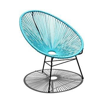 Charmant Harmonia Living HL ACA LC GBB Acapulco Lounge Chair, Glacier Blue