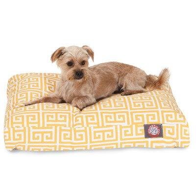 Majestic Pet Towers Rectangle Pet Bed - Orange - X-Large