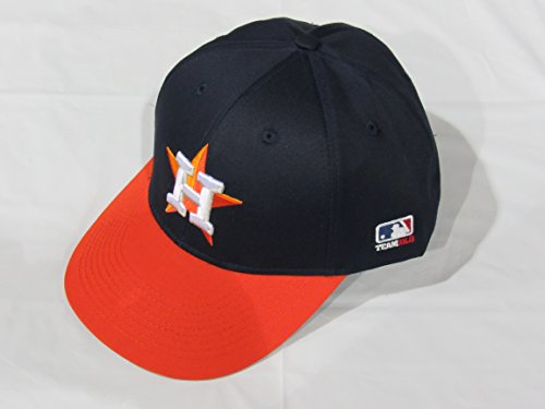 2013 Adult FLAT BRIM NeW LOGO Houston Astros Road NavyBlue/Orange Hat Cap MLB Adjustable
