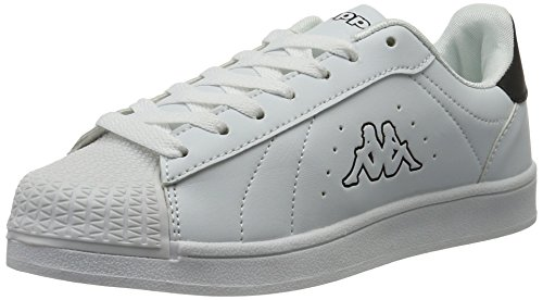 Blanc Sneakers White Black Mixte 1011 Kappa Adulte Olymp Basses XgnpR