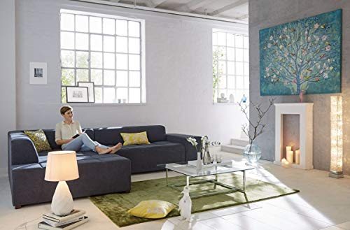 Kaminumrandung Konsole Landhausstil Weiß Ca. 70 X 20 X 110,5 Cm Weiß    Grau: Amazon.de: Küche U0026 Haushalt
