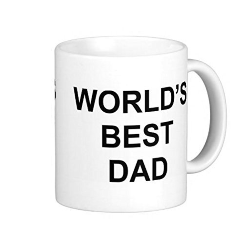 Pioenfly Worlds Best Dad Classic White Coffee Mug (Mug Coffee Classic White)