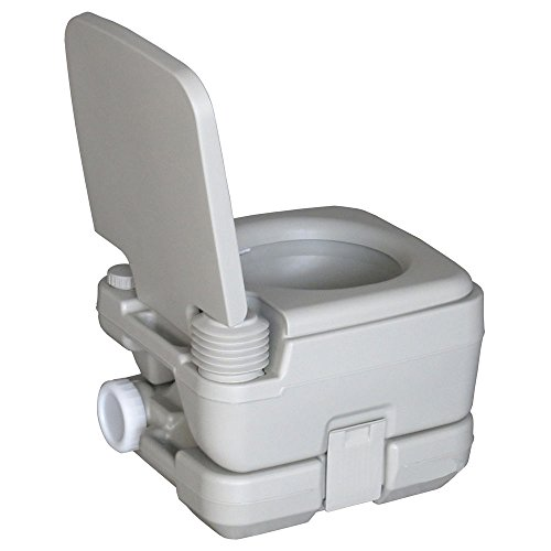 10L Portable Flush Toilet Camping Potty Boat Trip by FDInspiration