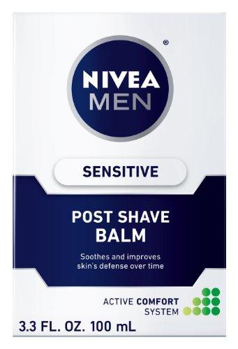 スペードラウンジ贅沢な【海外直送】 男性用ニベア 敏感肌用 アフターシェーブバーム(100ml) Nivea for Men Sensitive Post Shave Balm (3.3oz)
