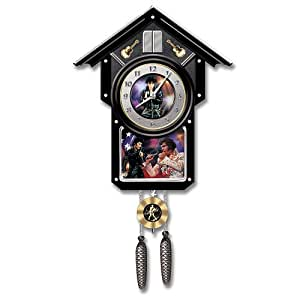 Elvis Presley Collectible Cuckoo Clock: Elvis For All Time by The Bradford Exchange