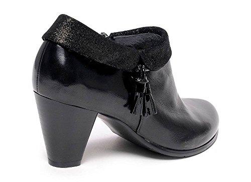 Le Regarde Marisi Femme Boots Ciel Noir 06 Courtes SxxqHw