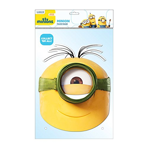 Despicable Uk Minion Me Costume (Minion Au Natural Character Face)