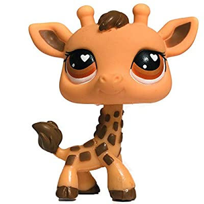 LPS Littlest Pet Shop #526 Giraffe, Collectible Replacement Single Figure Loose (OOP Out of Package): Toys & Games