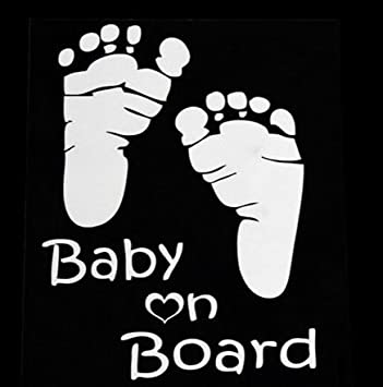 Autoaufkleber Baby On Board In Weiß Edler Sticker Für Das Auto 28 Baby