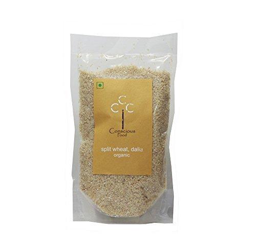 Conscious Food Organic Split Wheat Dalia-200g by CONSCIOUS FOOD