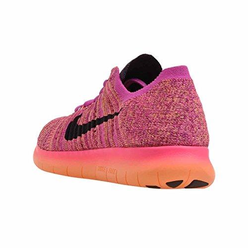 Nike Free RN Flyknit MTLC (GS) Feuerrosa / Grand Purple