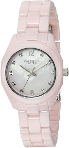 bulova-womens-quartz-stainless-steel-and-ceramic-casual-watch-colorpink-model-45l165