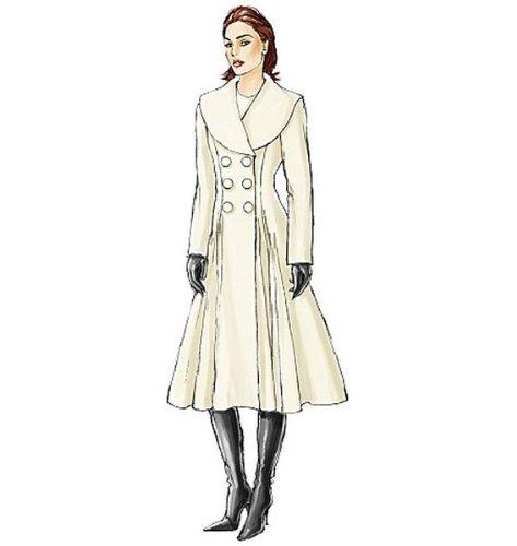 Vogue 8346 - Patrones de costura para confeccionar abrigos de señora: Amazon.es: Hogar
