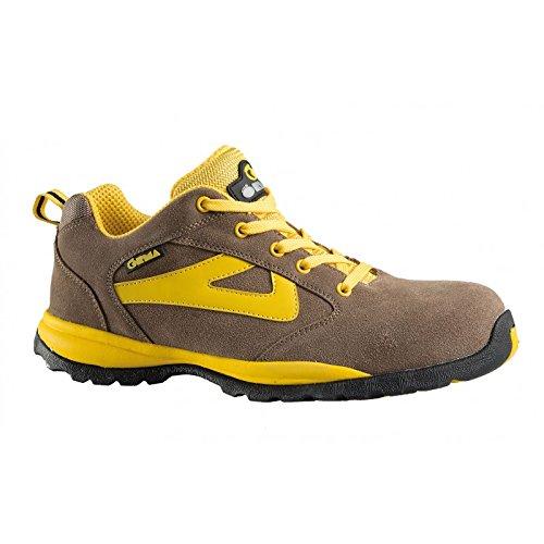 Botte de S3 travail Sneakers 42 Gris nbsp;– nbsp;Jaune Rubber odibi Chaussures nbsp;basse 'New EBqnqCF