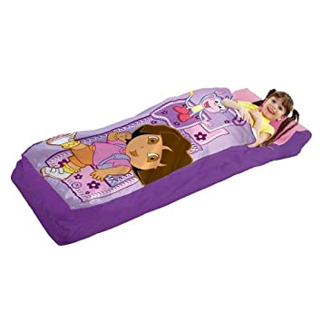 Dora the Explorer Ready bed with Battery pump