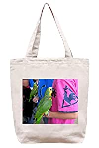 Parrot Outing – algodón Canvas Tote Bag