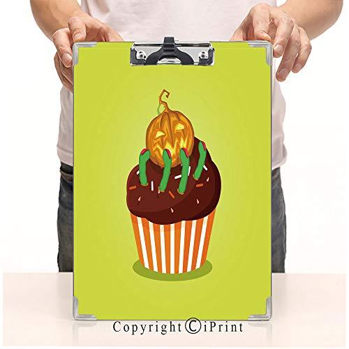 Printed Folders Clipboard Pattern Natural,8.85
