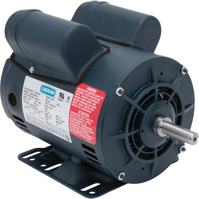 Leeson Air Compressor Electric Motor - 5SPL HP, Model# 116845 by Leeson