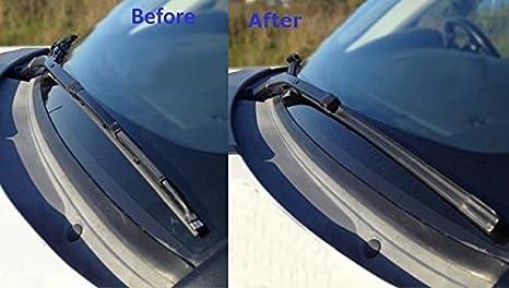 Online Automotive FWBVWCAR25D 6004 Front Aero//Flat Windscreen Wiper Blades Set of 2