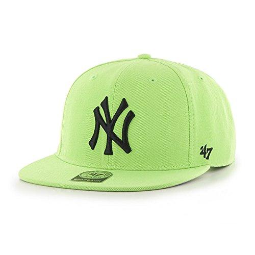 new york yankess lime green mlb 47
