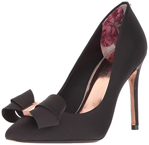 Ted Baker Women's SKALETT Pump, Black, 5.5 Medium US