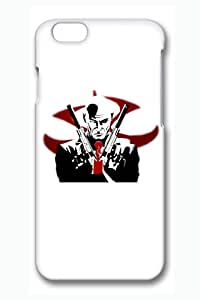 iPhone 6 plus Case, 6 plus Case - Fashion Design 3D Print Case Bumper for iPhone 6 Hitman Agent 47 Silhouette Perfect Fit Case Cover for iPhone 6 plus 5.5 Inches