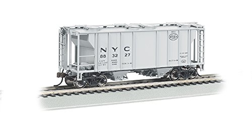 Bachmann Industries PS-2 NYC Two-Bay Covered Hopper Vehicle (HO Scale)