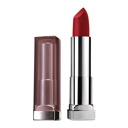 Maybelline New York Color Sensational Red Lipstick Matte Lipstick, Divine Wine, 0.15 oz