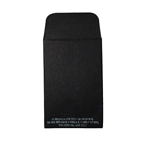 """Discount Black Oil Wax Extract Coin Envelopes 2.25"""" X 3.5"""" #1 Premium Rx CA Prop 215 Foil Label Version - Custom Printed Samples Included (100) hot sale"""
