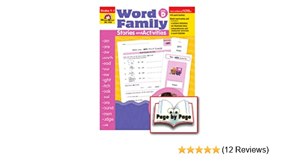 Evan-Moor Word Family Stories and Activities, Level D