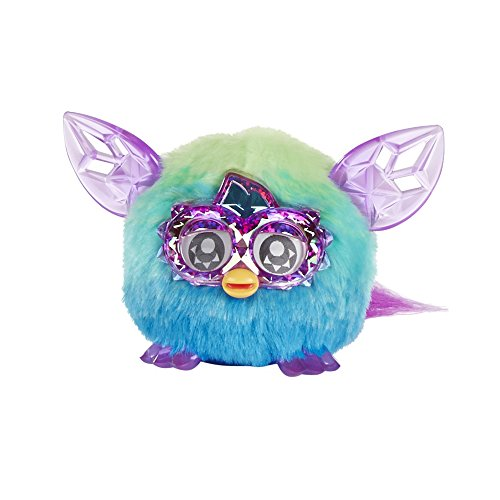 Hasbro Furby Furblings Creature Plush, Green/Blue