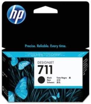 1 x Original tinta HP 711 cz129 a Black F³ R HP Designjet T 520 ...