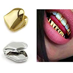 ComidoxHip Hop Single Teeth Grillz Caps ...