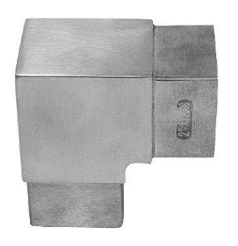 Conector de tubo cuadrado fuelle tubo rectangular 90° 30 mm ...