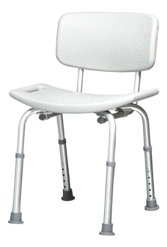 Lumex 7921A-4 Platinum Collection Bath Seat with Backrest (Pack of 4) by Lumex   B008SI6BFO