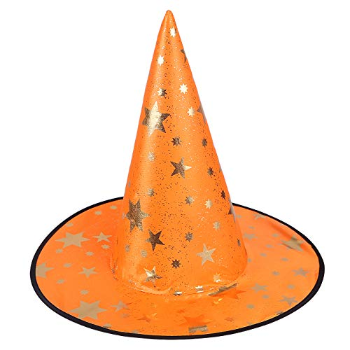 HDE Witch Hat Halloween Costume Cosplay Wicked Witch Accessory Adult One Size -