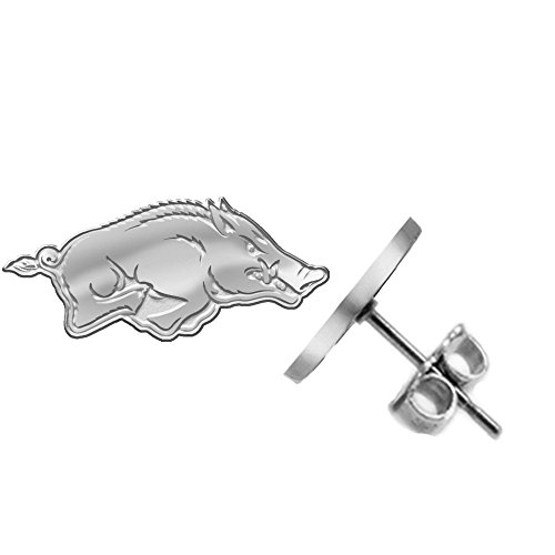 Arkansas Razorbacks Earring - Small Stud - See Image on Model for Size Reference