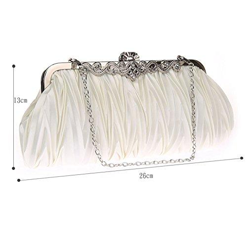 Luxury Elegant SHISHANG bag Messenger bag bag ZYXCC Purple bag evening Women's evening Fashion qRRt4AYBw