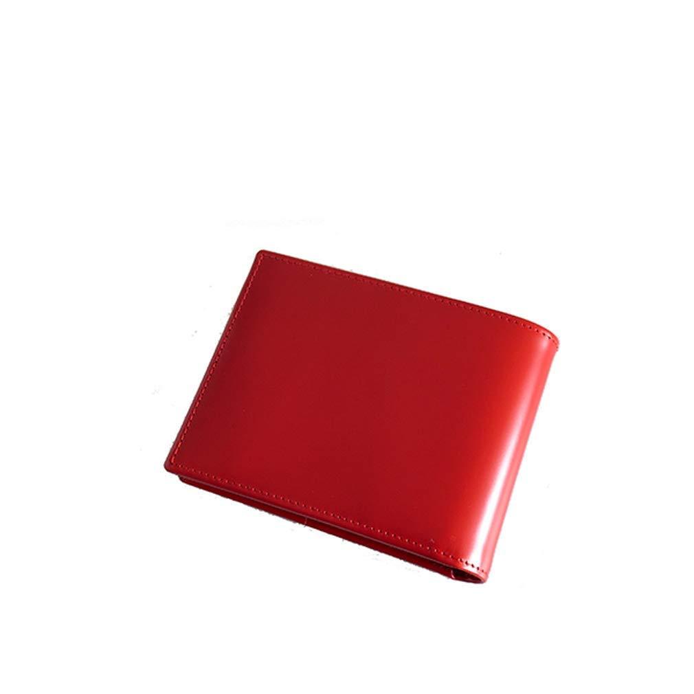 エッティンガー ETTINGER BRIDLE HIDE メンズ 短財布 BH141JR-RED レッド[sw] B07K9LB86J