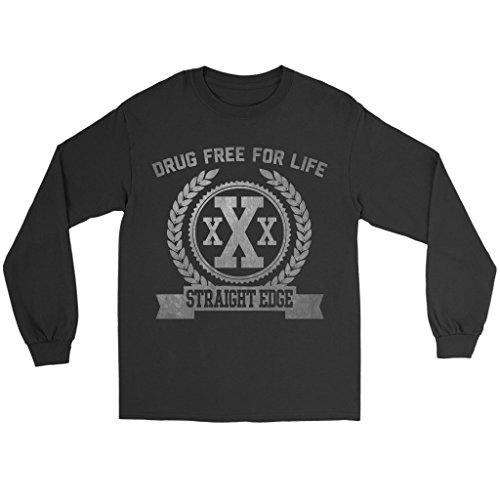 straight edge shirt long sleeve - 1
