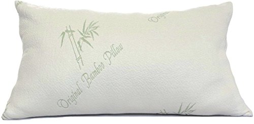 Pillows-for-Sleeping-Original-Bamboo-Pillow-Standard-Queen-Size-Adjustable-Loft-Cooling-Shredded-Memory-Foam-Bed-Pillow-Cool-Hypoallergenic-Luxury-Comfort-for-Back-Side-and-Stomach-Sleeper