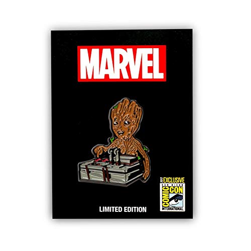 Guardians of the Galaxy Baby Groot & Bomb Enamel Collector Pin, Toynk Exclusive