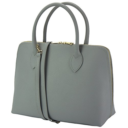 Business Saffiano Sac Florence Cartable 308 Leather Gris Market Cuir Pour Femme En qECCTgOw6