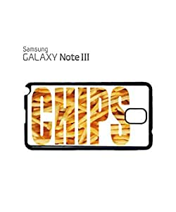 Chips Fries Fast Food Happiness Mobile Cell Phone Case Samsung Note 3 Black by icecream design