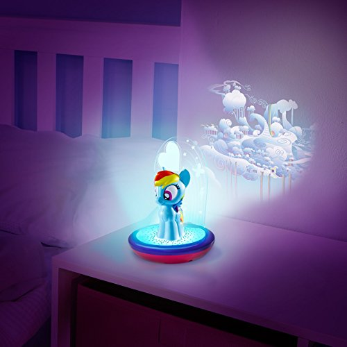 My Little Pony Magic Night Light Rainbow Dash Kids Torch And Projector By Go Glow Buy Online In Uae Lighting Products In The Uae See
