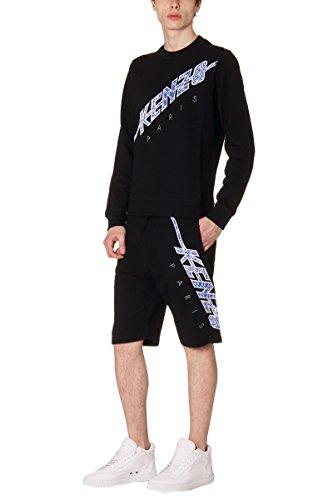 kenzo-mens-pf655pa7104mdnero-black-cotton-shorts