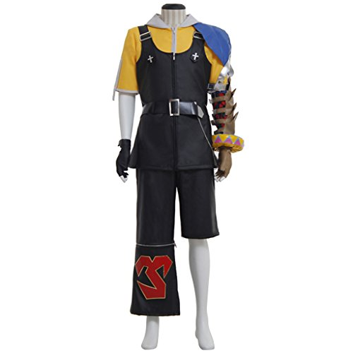 CosplayDiy Men's Halloween Costume Suit for Final Fantasy 10 Tidus Cosplay cm