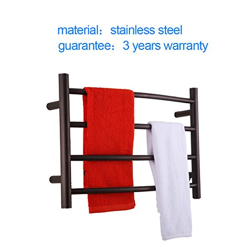 Sharndy Electric Towel Rack Towel Warmer Orb Wall Mounted Oil Rubbed Bronze by SHARNDY (Image #3)