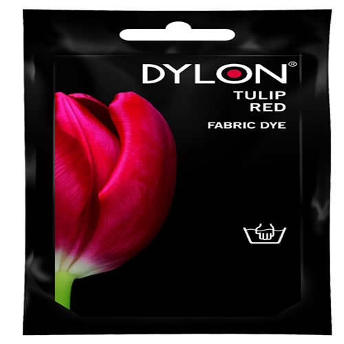 Dylon Hand Dye, Tulip Red