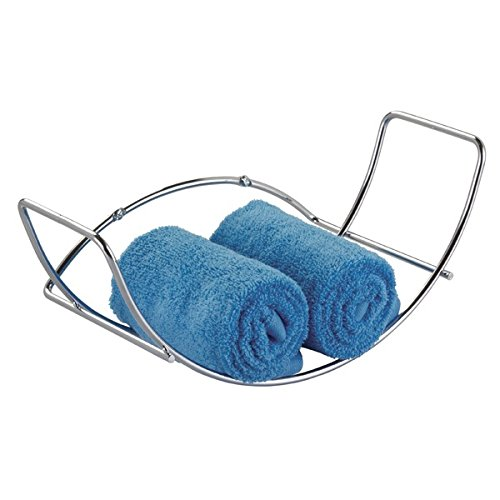 mDesign Mount Towel Holder Bathroom